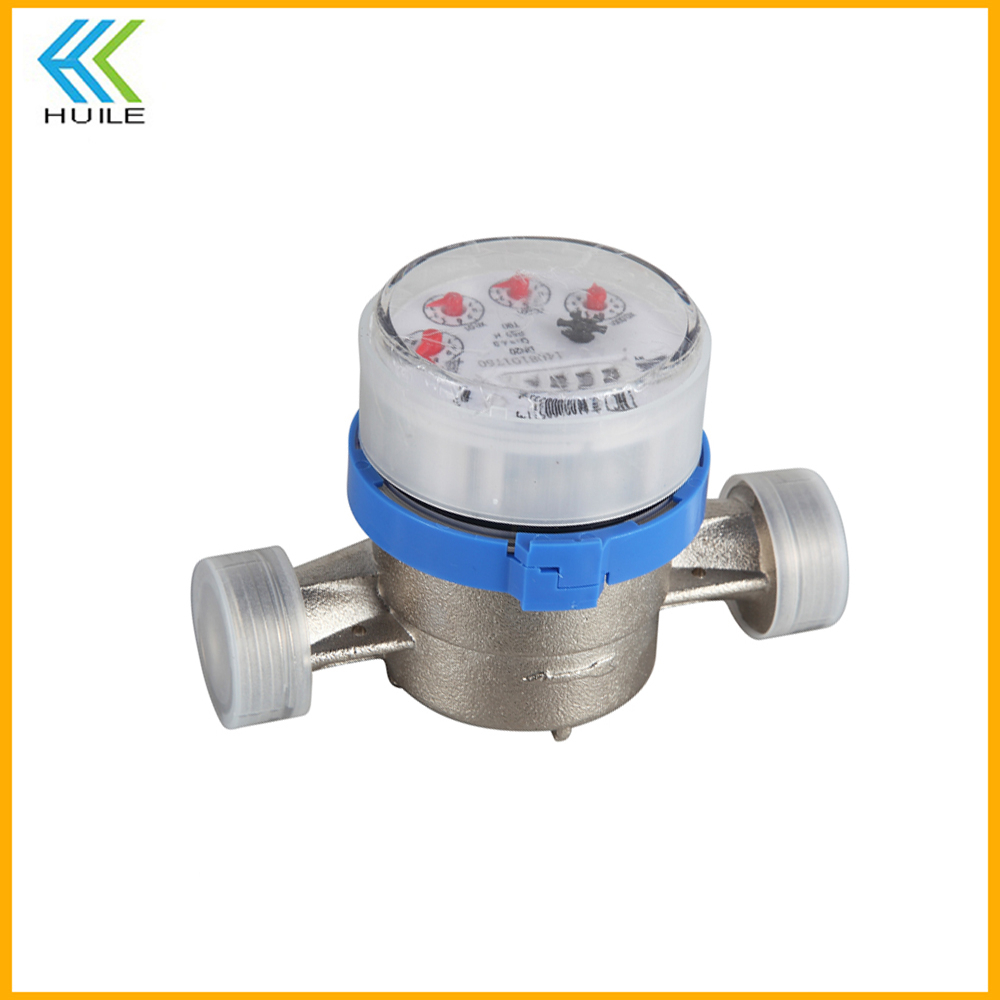 prepaid ultrasonic single jet mechanical heat meter body prepay water meter