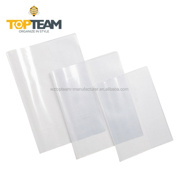 Topteam Translucent A4 Pvc Plastic Self Adhesive