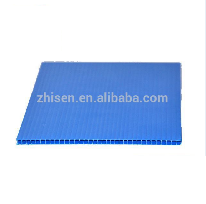 Blue Pp Hollow Composite Decking Corflute Protection Board 2Mm Plastic Sheet