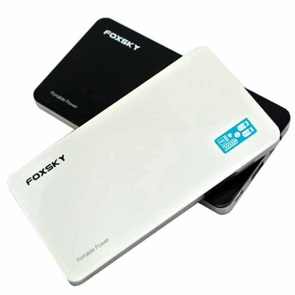 New technology power bank with 2A input current / built in LCD screen 10000mah power bank