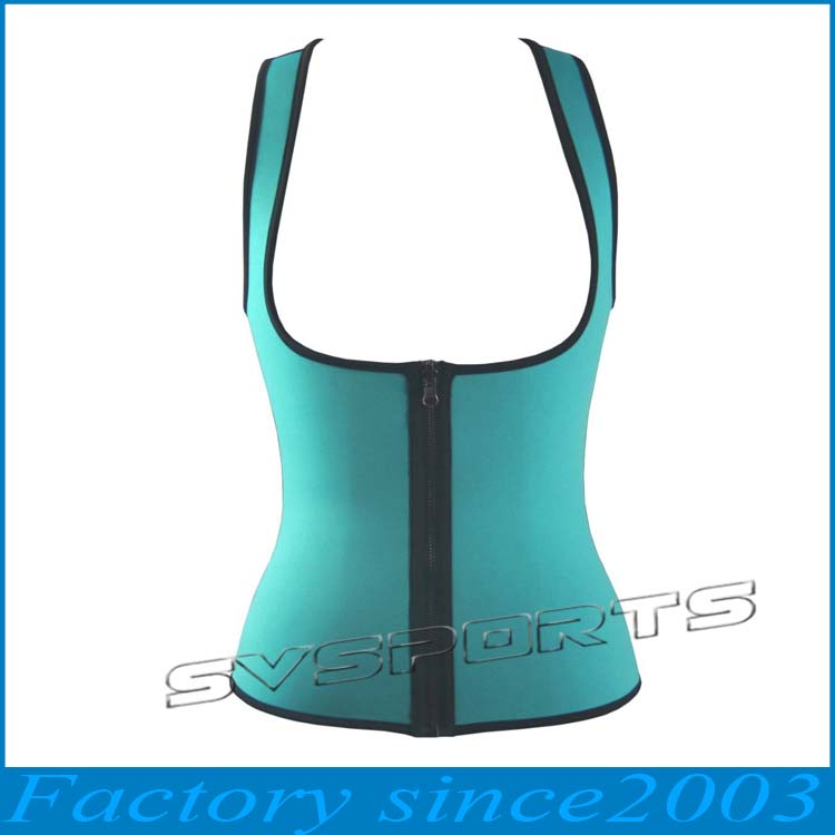 Adults Age Group and Spandex/Nylon Material Slimming Neoprene Body Shaper
