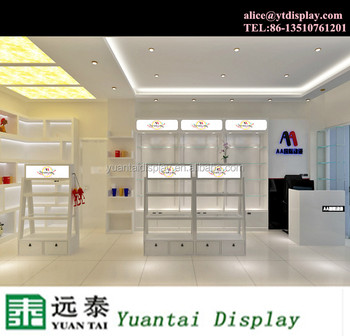 Alibaba China Baby Clothes Shop Furniture Design Wooden Clothes