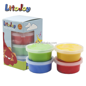 Litojoy 4 colors modeling clay design