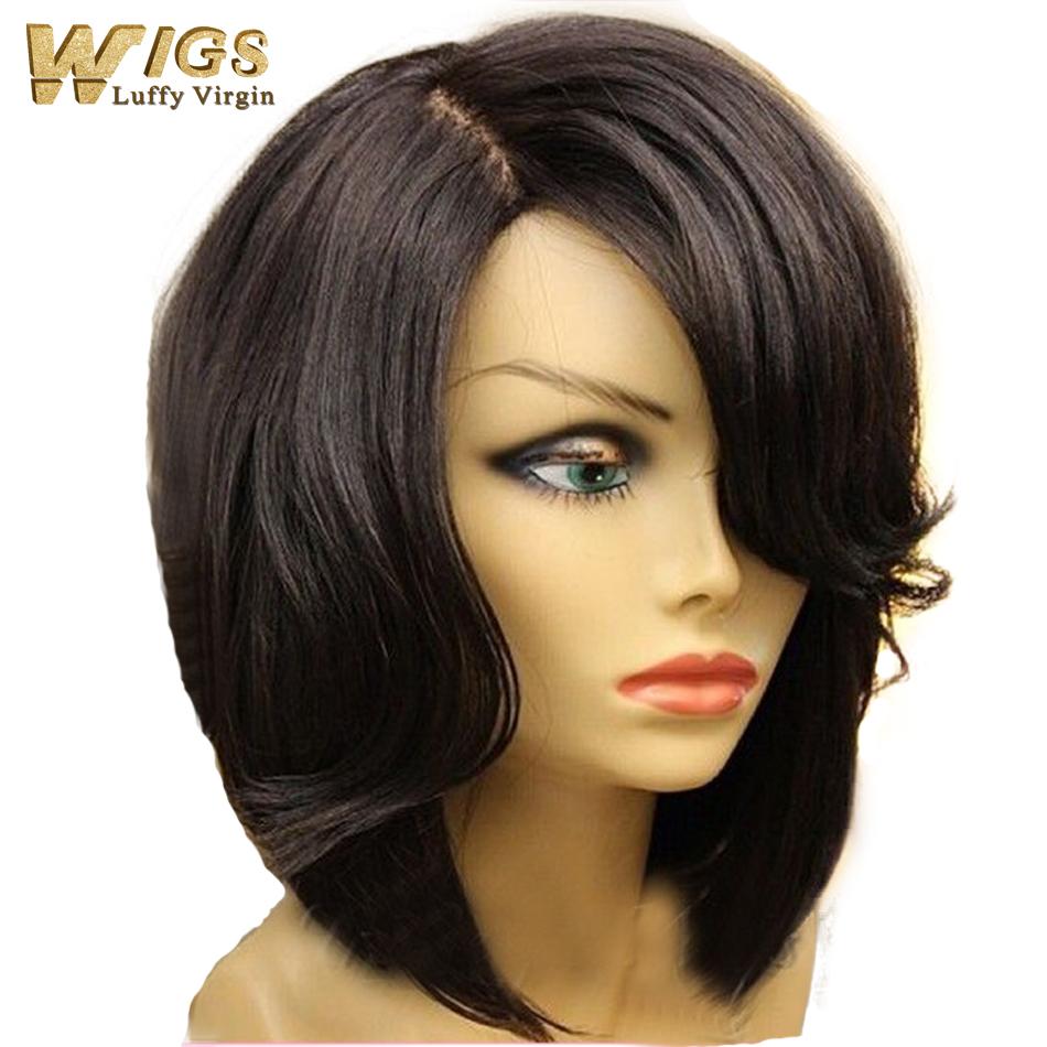 Layered weave bob hairstyles