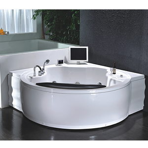 180x180 family use new ABS material whirlpool bubble jets sex toilet bathroom outdoor spa for rich