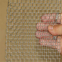 201 304 304L 316 316L Stainless Steel Woven Wire Mesh Insect Screen Security Mesh