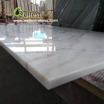Billiger Carrara Weißer Marmorlaminat Countertopeitelkeitsoberseite