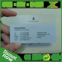 Plastic credit card style reward card