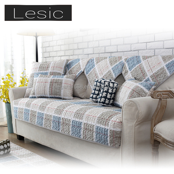 Most Economical Standard Top Fabric Knitting Cotton Sofa Cover