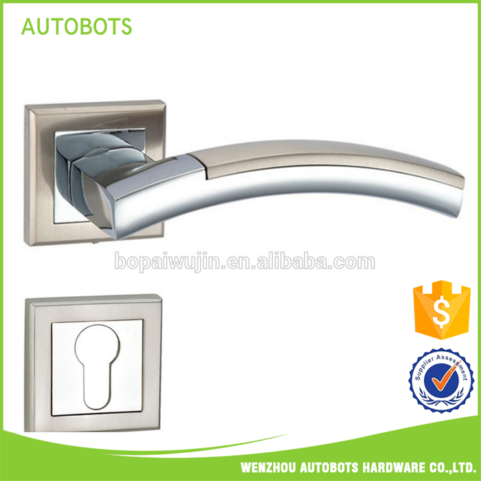 OEM/ODM factory supply zinc door handle on rose