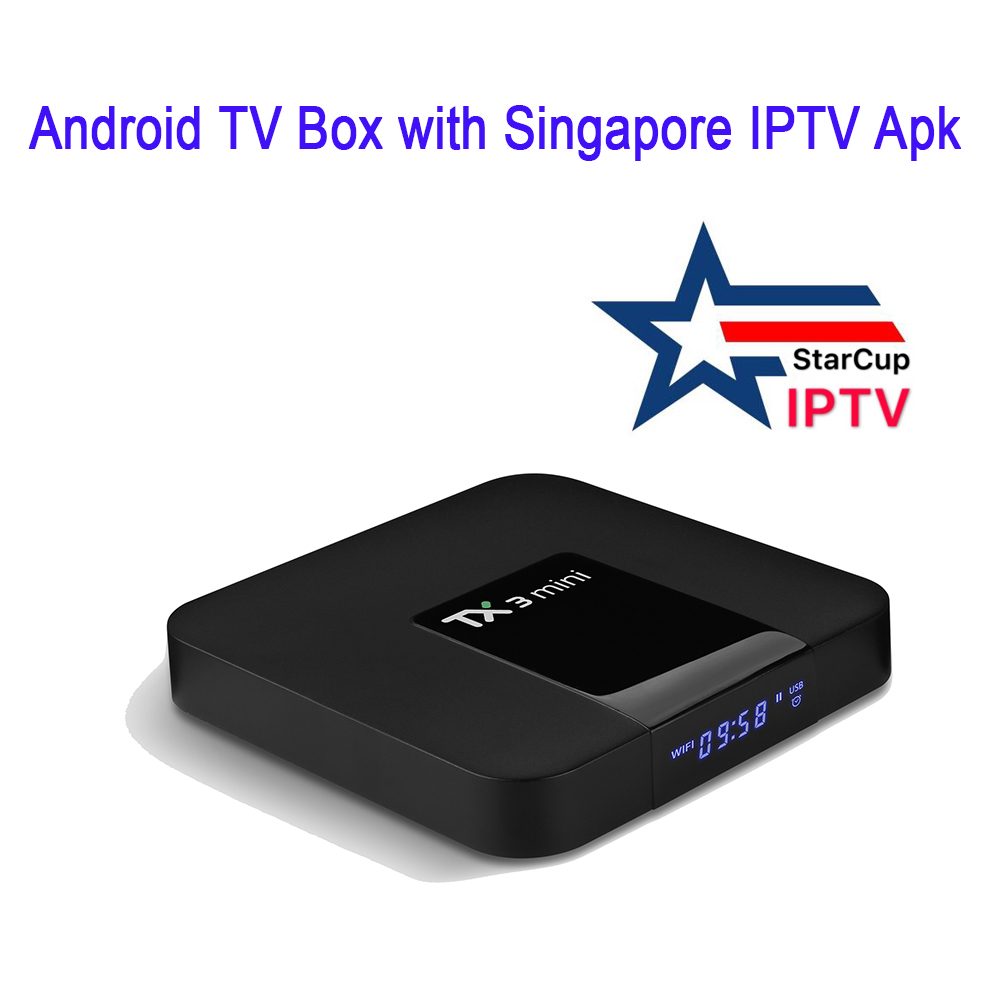 Android Tv Box Tx3 Mini With Singapore Iptv Starcup Apk Watching Sports  Channels - Buy Android Box,Singapore Iptv,Starcup Product on Alibaba com