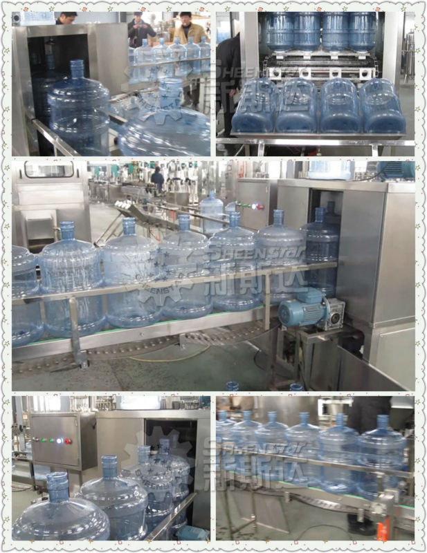 3-5 gallon distlled water filling machine for small beginning company