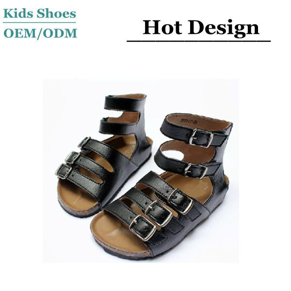 6828177afe25e J-s0200 Hot Sale Black Sandals Boys Girls Summer Leather Shoes Toddler  Gladiator Sandal - Buy Toddler Gladiator Sandal,Oem Design Leather Children  ...