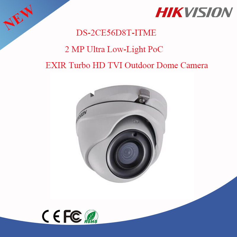 English Firmware 2MP Ultra low light PoC Turbo hd tvi cctv camera Hikvision DS-2CE56D8T-ITME
