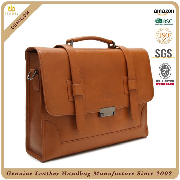 588a1df2b مناسبة رسمية المكاتب التجارية جلد طبيعي رجل حقيبة اليد-حقائب تعليق ...