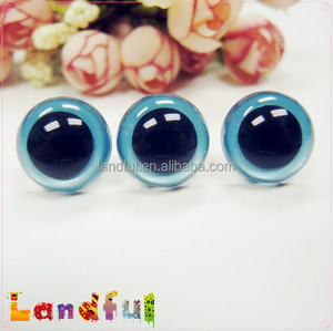12mm Shine Color Animal Metallic Blue Eyes Toy Safety Eyes