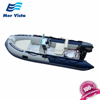 Made In China PVC Mini Rib 4 Meter Center Console Boat With Motor