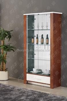 glass showcase designs for living room. American latest wooden furniture Living Room Glass Showcase Designs