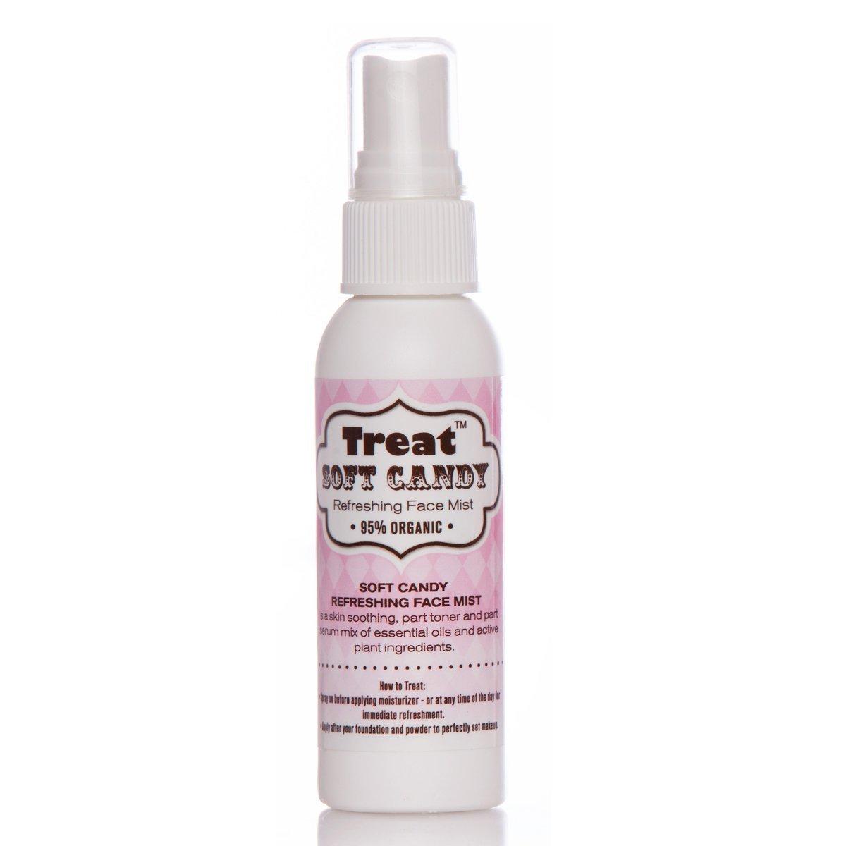 TREAT Refreshing Face Mist, Soft Candy Vanilla Buttercream