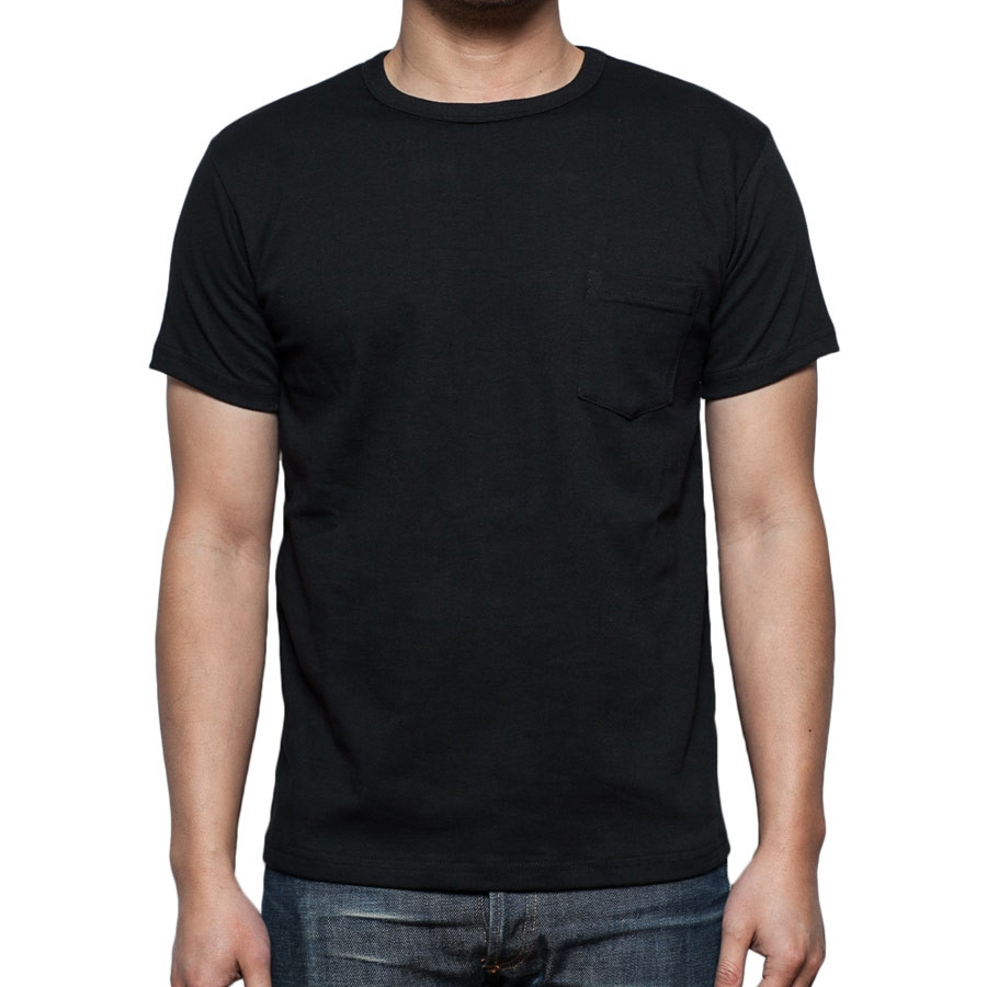 Black Heavyweight Plain Black T Shirts Wholesale - Buy ...