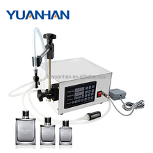 Double head semi automatic Magnetic Pump Liquid Filling Machine for samll bottle
