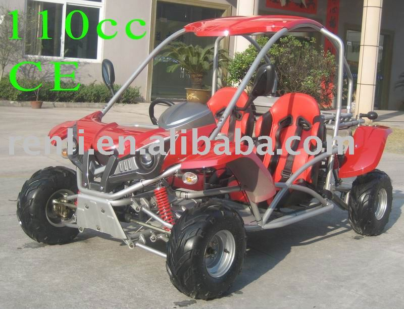 110cc go kart kids go kart two seat