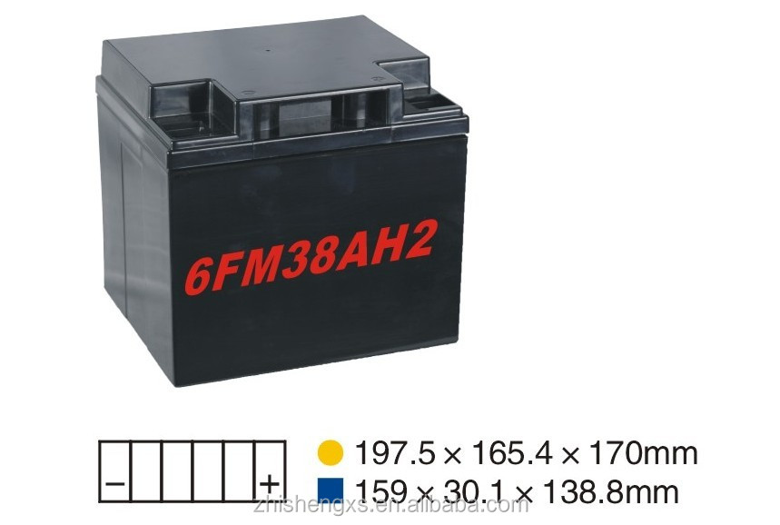 AGM solar batteries ABS plastic boxes
