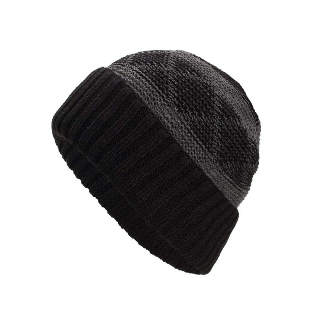 3294ffba8cfc82 Get Quotations · Sunny&Love 2018 Unisex Winter Warm Baggy Weave Wool Knit  Ski Hat Skull Caps Hat