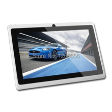 Free shipping, Yuntab 7 inch android tablet pc A13 Q88 android 4.2 DDR3 512MB ROM 4GB Wifi dual Camera Low Price