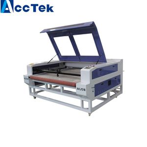 Fabric co2 laser cutter /auto feeding textile laser cutting co2 machine