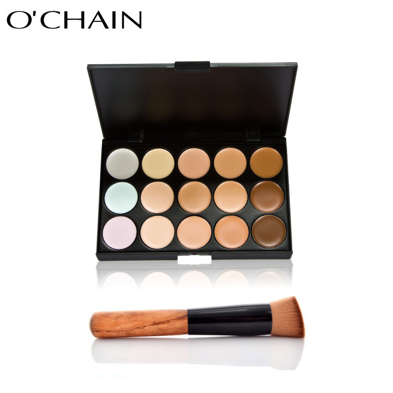 Portable and professional 15 colors make-up concealer