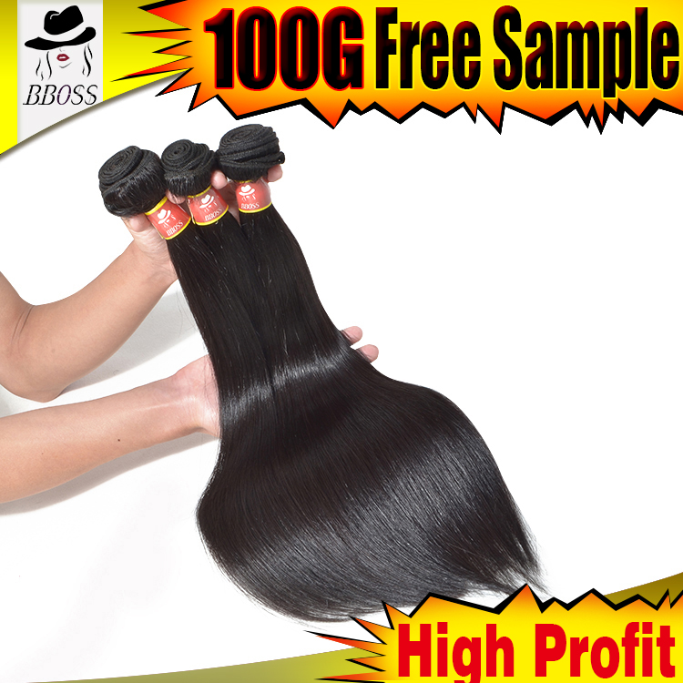 BBOSS New product hair weave with colored tips