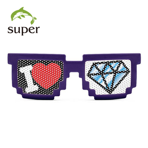 2015 Digital Pixel Pinhole Sunglasses with your logo