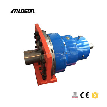 P Series 2 Speed Planetary Gearbox Gear Increase