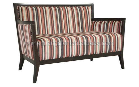 old style fabric moroccan sofa wooden frame HDS1464