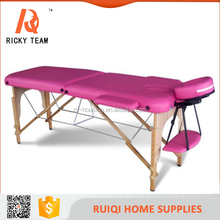 high quality hot sale facial massage bed/folding massage table/ portable therapeutic massage table