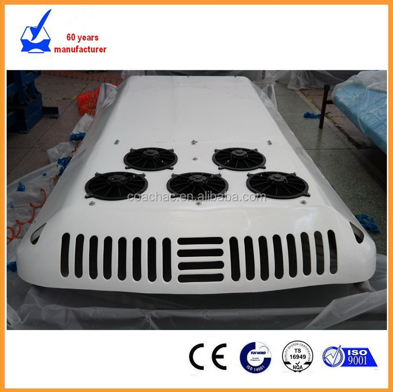 12V /24V rooftop AC air conditioning unit for 12m bus