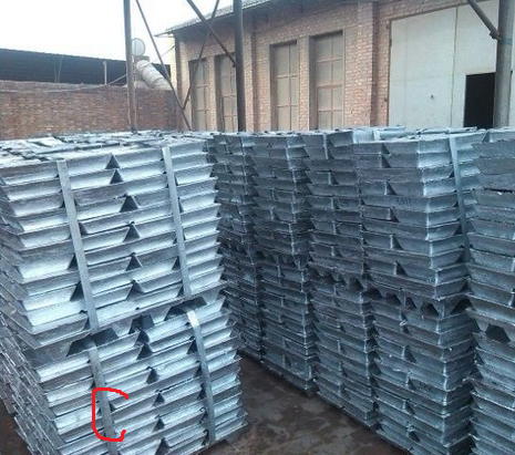 Hot sale factory price Lead ingot purity 99.99%