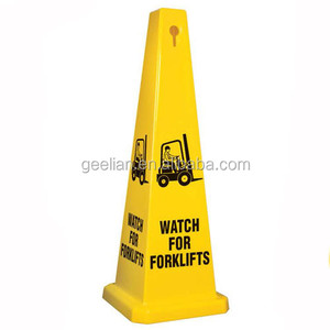 Plastic reflective caution sign board for warning parking sign board