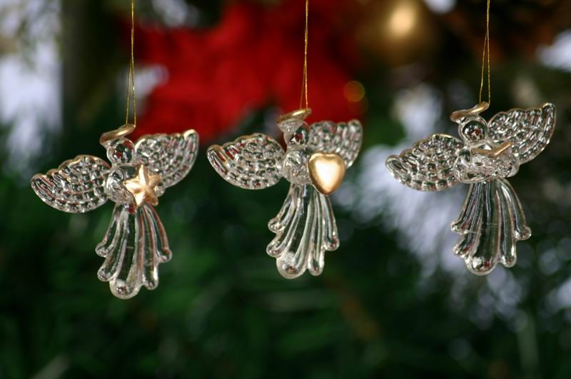 Made In China Glass Angel Christmas Ornaments Decoration