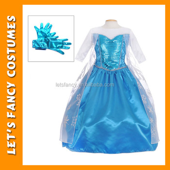 Pgcc-2618 Billig Kinder Mädchen Gefrorene Elsa Kleid Großhandel ...