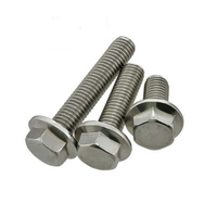 China supplier hot sales hot dip galvanized hex head m6 flange bolt in Chuanghe