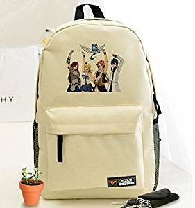02d4e9991cf6 Buy Cosplay Anime Fairy Tail Shoulder Backpack /Canvas Daypack ...