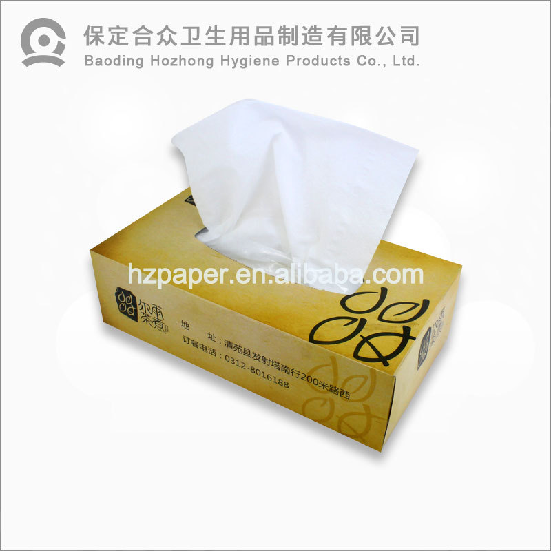 hotsale pure virgin wood pulp white scented facial tissue paper