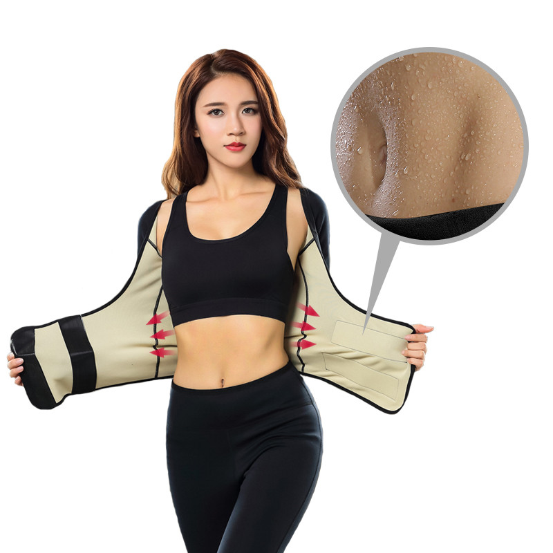Wholesale Large Size Sweat Suit Neoprene Ultra Sportswear For Women's Slimming Clothes