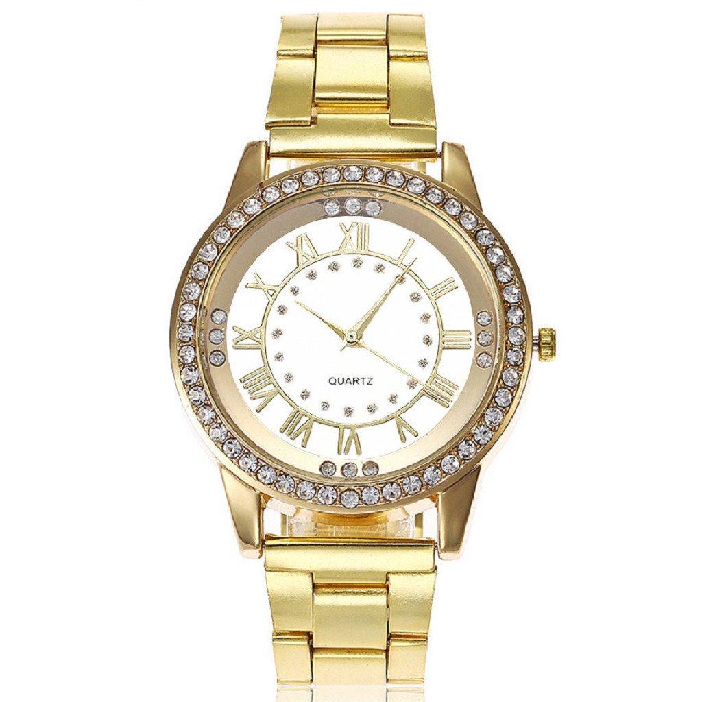 FAPIZI Womens Watch}Clearance✿Women's Men's Crystal/Rhinestone/Stainless Steel Analog Quartz/Wrist Watch
