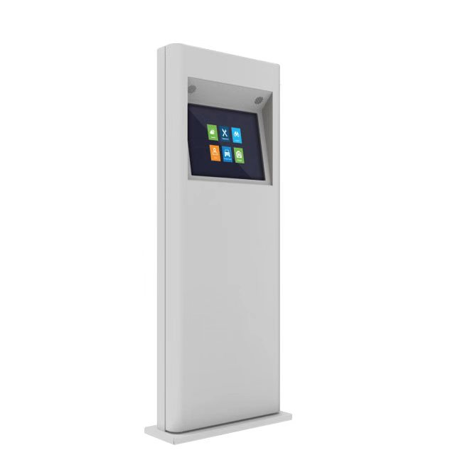 Cold Rolled Steel 19inch Smart Outdoor Info Kiosk with IP65 IP66 Anti-water Anti-Snow