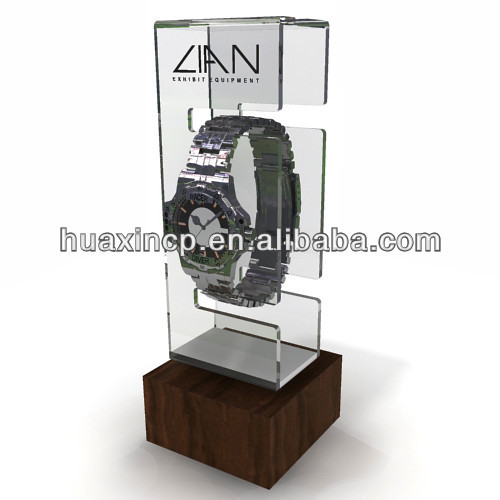 2015 Best Seller A4 Acrylic Box For Watch Display