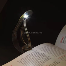 LED Eye Care Book Light Portable Night light with Clip for Travel, Reading in Bed