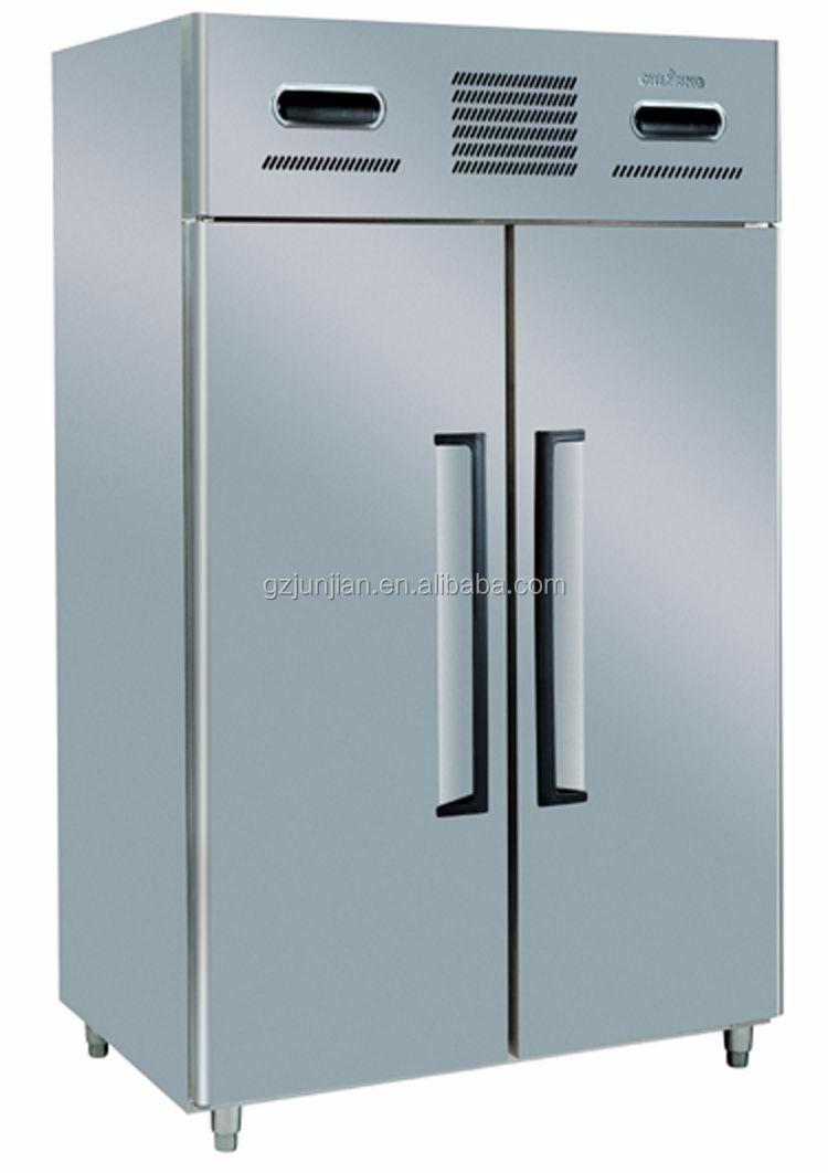 2 Türen Doppel Temperatur Kühlschrank Gefrierschrank/gewerbe Gas ...